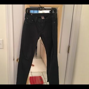 true religion jeans olive green